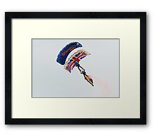 The Tigers parachute team Framed Print