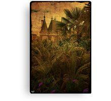 Jungle Chateau Canvas Print