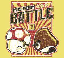 Mushroom Battle One Piece - Short Sleeve