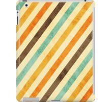 Vintage Stripes Faded iPad Case/Skin