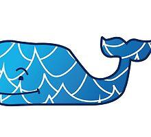 vineyard vines whale by Emily Grimaldi
