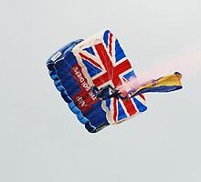 The Tigers army parachute team by David Fowler