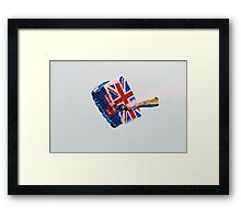 The Tigers army parachute team Framed Print