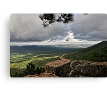 View from the Rim  Canvas Print