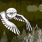"""Owlman Hunting"" by rosell"
