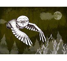 """""""Owlman Hunting"""" Photographic Print"""