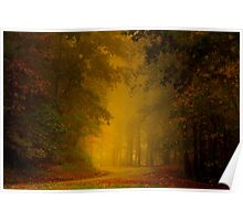 Mist of Autumn Poster