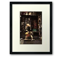 Urban Rush Framed Print