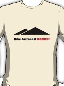 Hike arizona it rocks vi geek funny nerd T-Shirt