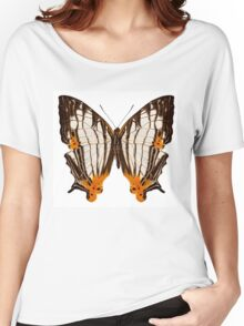 Butterfly species Cyrestis lutea martini Women's Relaxed Fit T-Shirt