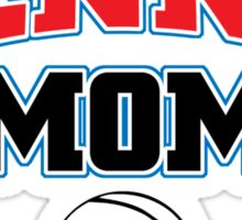 proud to be a tennis mom Sticker