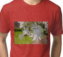Star magnolia  Tri-blend T-Shirt