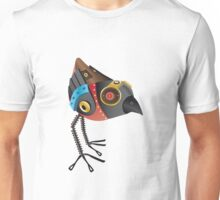 Robot Bird Unisex T-Shirt
