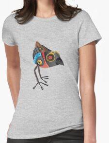 Robot Bird Womens Fitted T-Shirt