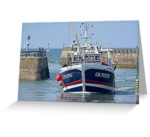 Le Normandie Greeting Card