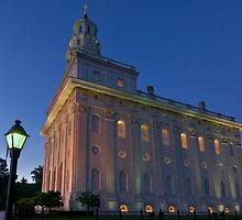 The Nauvoo Temple by MattGranz