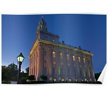 The Nauvoo Temple Poster