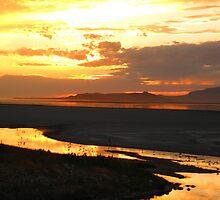 Sunset in Utah by JoAnn Glennie
