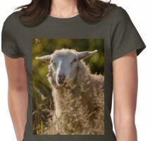 Funny Sheep Womens Fitted T-Shirt