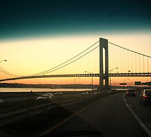 VERRAZANO BRIDGE by Redsirens Art
