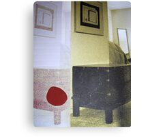 Sharing with Ghosts [fitting in 2] Canvas Print