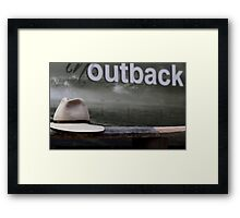 """Hat Town"" Framed Print"