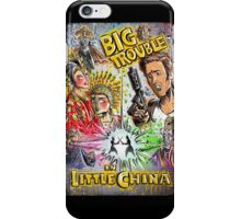 Big Trouble in Little China art jack burton john carpenter sci fi horror chinese japanese kung fu martial arts kurt russel storms girl iPhone Case/Skin