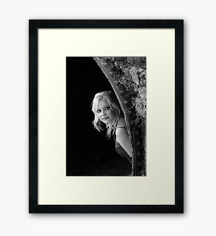 The Stolen Glance Framed Print