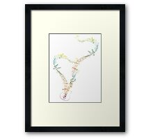 Guitar and Music Notes 8 Framed Print