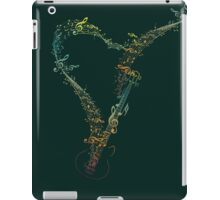 Guitar and Music Notes 8 iPad Case/Skin