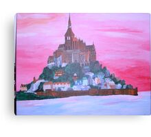 saint Michele mountain Canvas Print