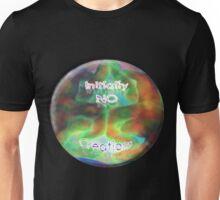 Initially NO creations logo Unisex T-Shirt