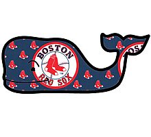 Vineyard Vines Boston Red Sox Photographic Print