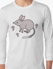 Pretty Bilby with Flowers Long Sleeve T-Shirt