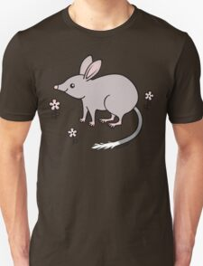 Pretty Bilby with Flowers Unisex T-Shirt