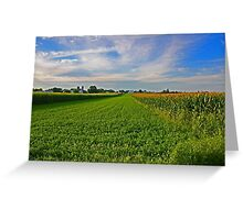 Lancaster County Landscape Greeting Card