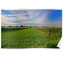 Lancaster County Landscape Poster