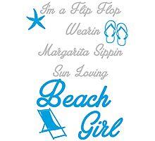 Beach Girl Photographic Print