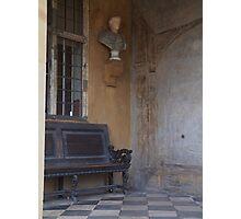 a Quiet Corner Photographic Print