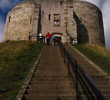 Clifford's Tower, York by wiggyofipswich
