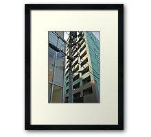 Tokyo Streetscape Framed Print