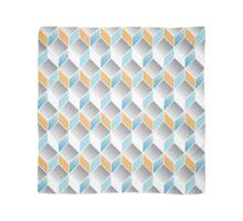 cubic pattern - geometric 3d design -seamless Scarf
