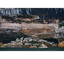 Pictured Rocks Photographic Print