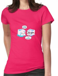 I'm cool geek funny nerd Womens Fitted T-Shirt