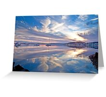 Belmont reflections Greeting Card