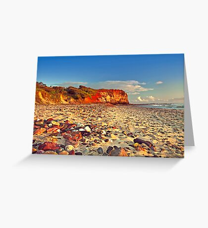Sunrise at Red Cliff Greeting Card