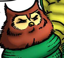 Owl Vs Snake Sticker