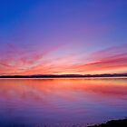 Lake Sunset by Liz Percival