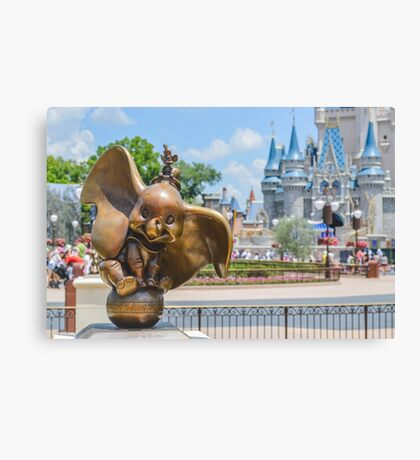 Did you ever see an elephant fly? Canvas Print