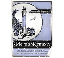 Piero's Remedy Dishonored Poster Poster